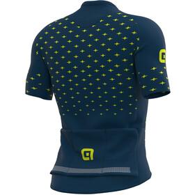 Alé Cycling PRR Stars SS Jersey Men, Azul petróleo/amarillo